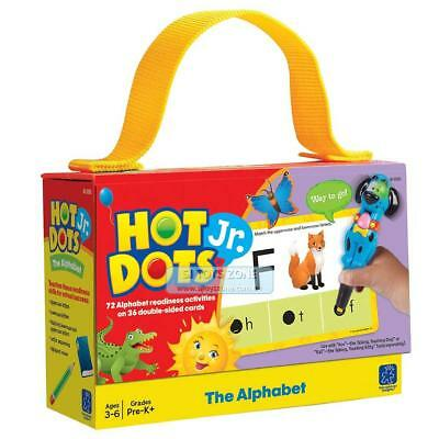 Educational Insights Hot Dots Jr. The Alphabet Cards