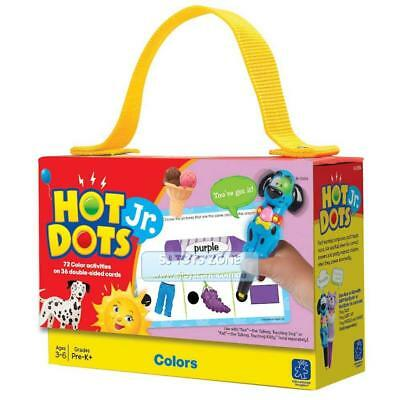 Educational Insights Hot Dots Jr. Colours Cards