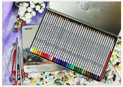 Marco 36 Water Colored Pencil Set Raffine Fine Art Drawing Pencils