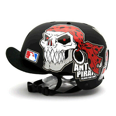 Decal Stickers For Snowboarding Helmet Biker Hard Hat Graphicer Antonio Pirate02