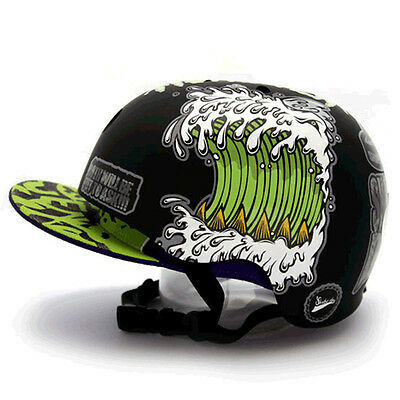 Decal Stickers For Snowboarding Helmet Biker Hard Hat Graphicer Shark Dog 07