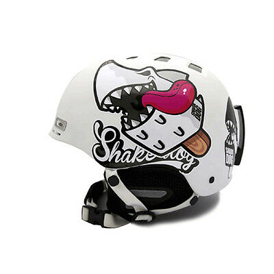 Decal Stickers For Snowboarding Helmet Biker Hard Hat Graphicer Shark Dog 04