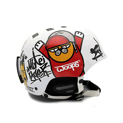 Decal Stickers For Snowboarding Helmet Biker Hard Hat Sticker Graphicer Woops 01