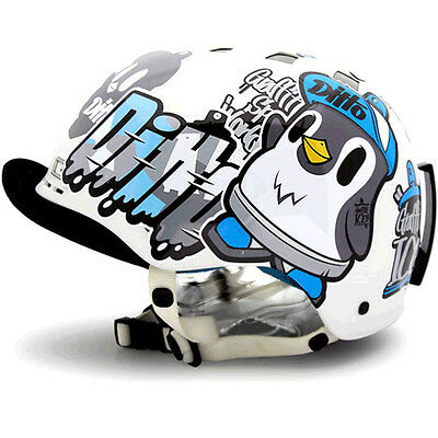 Decal Stickers For Snowboarding Helmet Biker Hard Hat Sticker Graphicer Ditto 01
