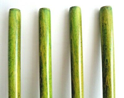 Walking Stick Shafts for Stickmaking Pistachio Wooden Colour Stick Making Cane