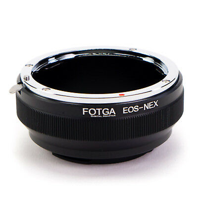 Adapter Ring Canon EOS EF Lens to Sony E-Mount Camera NEX A7S A7R II A6000 A6300