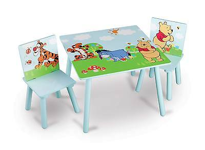 Delta Winnie the Pooh Table and Two Chairs kids furniture