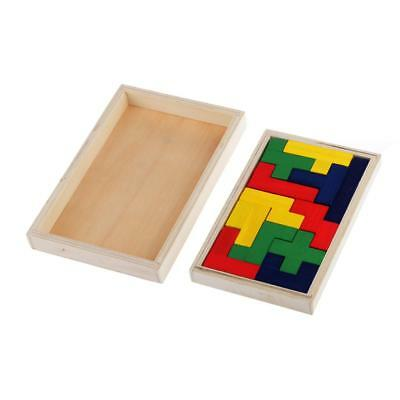 Toys of Wood Wooden Pentomino Puzzle Mind Novelty Trick Game Educational Toy