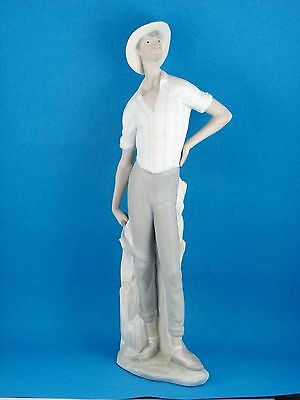 Harvester Man - Large Farmer FigurineMade in Spain  by Lladro #4581