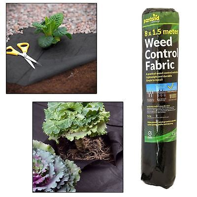 4 x Weed Control Fabric Ground Cover Membrane Landscape Mulch Garden Mats New