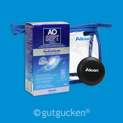 AOSEPT Plus HydraGlyde TRAVELPACK - 90ml