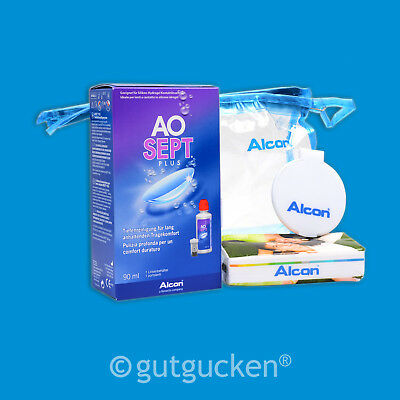 4x AOSEPT Plus TRAVELPACK - 90ml