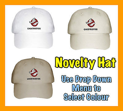 Ghostbusters Logo Baseball Cap / Hat - Embroidered Cap New Unofficial Gift Idea