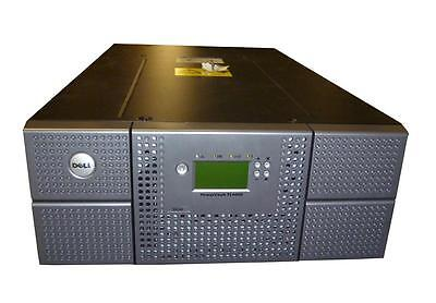 Dell PowerVault TL4000 Library 48-slot 4U with two LTO5 SAS HH Tape Drives
