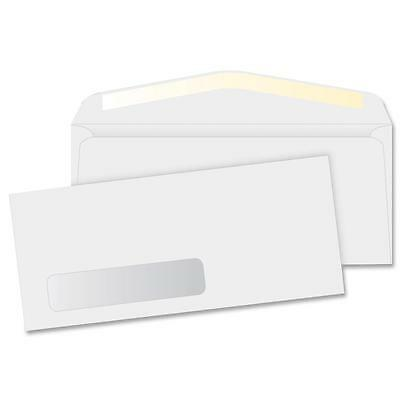 "Business Source Window Envelopes No 10. Side Seam 4-1/8""x9-1/2"" 500/BX White"