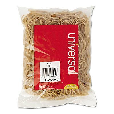 Universal Rubber Bands Size 19 3-1/2 x 1/16 310 Bands/1/4lb Pack 00419