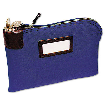 MMF Industries Seven-Pin Security/Night Deposit Bag Two Keys Cotton Duck 11 x 8