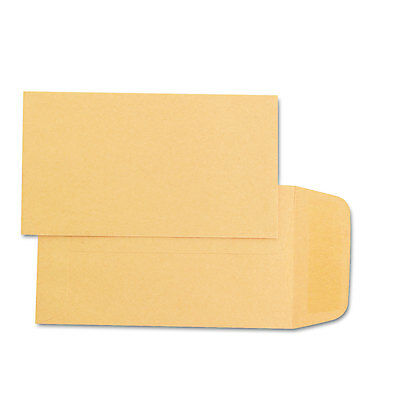 Quality Park Kraft Coin & Small Parts Envelope #1 2 1/4 x 3 1/2 Brown Kraft 500