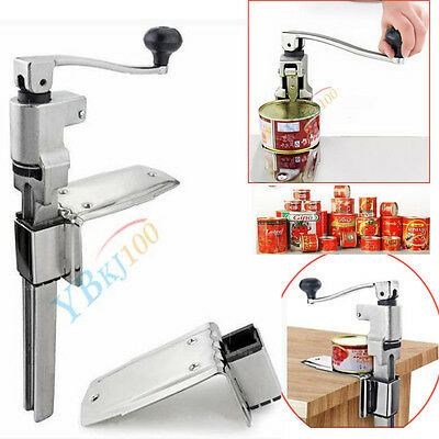Professional Commercial Catering Tin Can Opener Steel Large Heavy Duty Bench Top