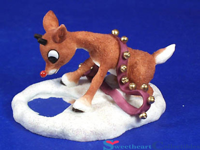 Enesco Rudolph Misfit Toy Reflection Figurine 557269 Retired