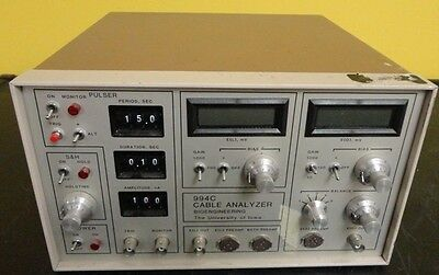 Bioengineering Cable Analyzer Model 994C Used Works Rare 30 day Guarantee