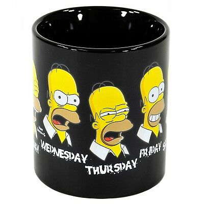 Kaffeebecher Simpsons Kaffeetasse Homer Simpson Tasse Becher Daily Homer