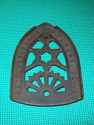 The Cleveland Foundry Co. Cast Iron  Trivet