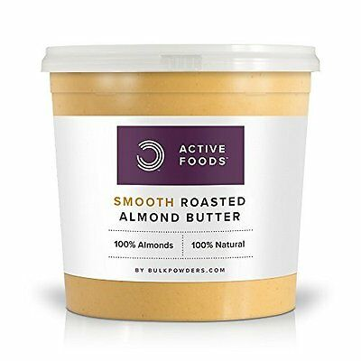 Smooth Roasted Almond Butter 1kg Free Shipping NEW