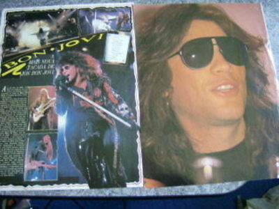 Bon Jovi Portuguese Clippings #23-2 Covers