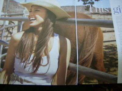 Jessica Alba Clippings Packet #1  In Style June 2007