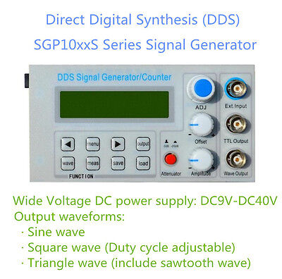 FeelTech 5Mhz Panel DDS Function Signal Generator Module Multiple Waveforms FPGA