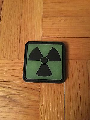 Nuclear Green Glowing Symbol Velcro Patch