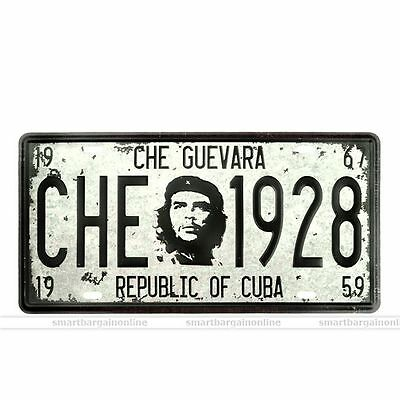 Che Guevara Vintage Metal Sign Tin Wall Art Home Poster Garage Pub Bar Decor