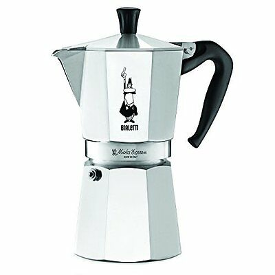 The Original Bialetti Moka Express Made in Italy 9-Cup Stovetop Espresso