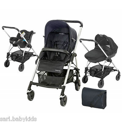 trio Streety plus Total Black 2014 Bébé Confort