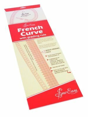 Sew Easy French Curve Metric Measurements For Sewing Dressmaking Tailoring