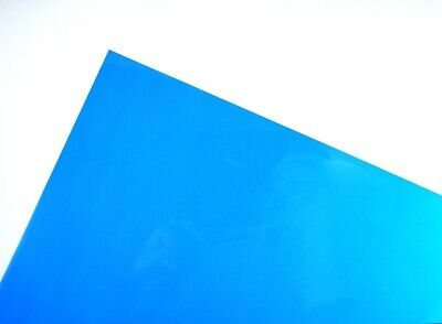 Blue A3 Acetate Sheets Transparent Clear OHP Craft Plastic Film (100 Sheets)