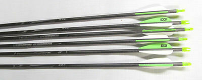 Easton Inspire Arrows 570 Spine Ready Made Arrow Archery Carbon Arrows 6 Pack