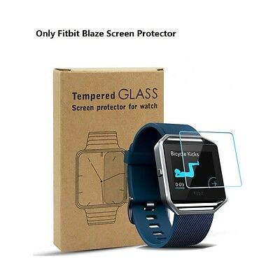 Fitbit Blaze Smart Watch Premium Full Cover Tempered Glass Screen Protector