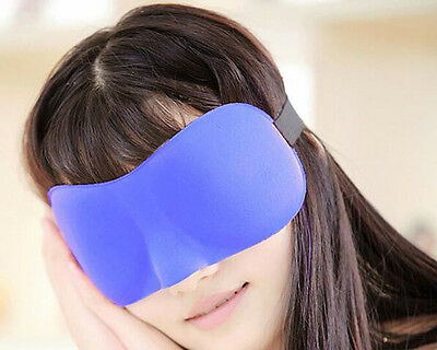 3D REM Lights Out Sleep Eye Mask Memory Foam Blindfold Best Night Sleeping Cover
