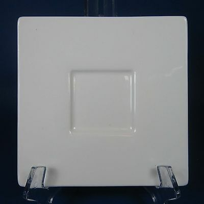 Tea Forte SOLSTICE Saucer Only White Square