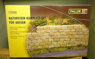 Faller / Pola G 170900 Natural stone Complete set for Exterior NIP