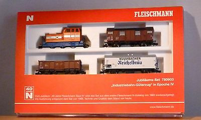 Fleischmann N 780903 Anniversary train Set Industrial railway Ep. 4 NIP