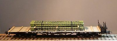 Roco HO stake car with cargo DB new and boxed 66636