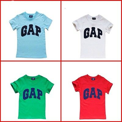 New Kids Girls Boys Clothes GAP Printed  T-shirt Top multi colors from 2-11Yr