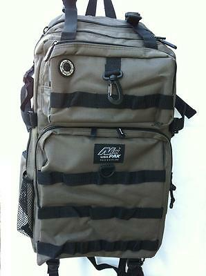 New HUGE Heavy-Duty Sports Travel Camping School Backpack, DP321 Biege