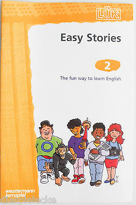 LÜK Heft Easy Stories 2 The fun way to learn English  Neu