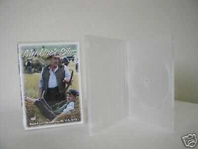 100 Clear 14Mm Standard Single Dvd Cases Psd22