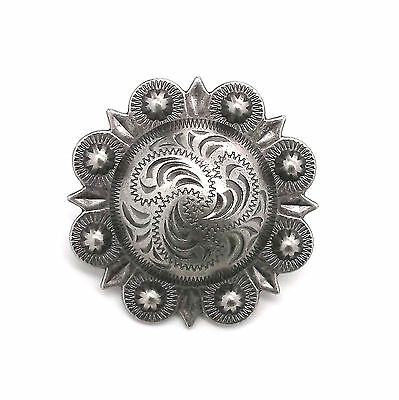 "Berry Concho Antique Silver Screw Back 3/4"" 7863-21"