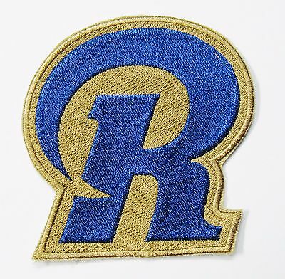 Lot Of 1 Nfl St Louis Rams Big R Embroidered Logo Patch Item